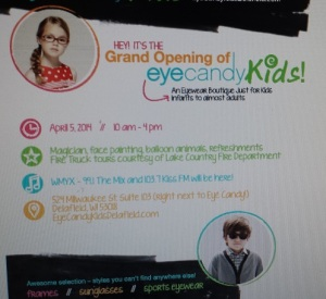 Eye Candy Kids Delafield Grand Opening!